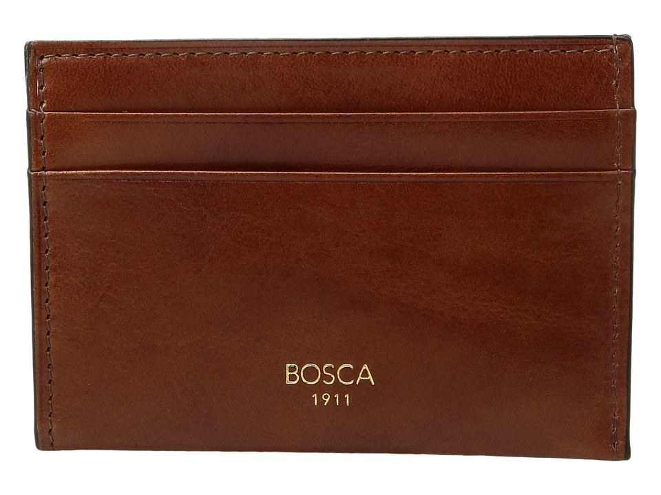 Bosca - Old Leather Collection - Weekend Wallet (Amber) Wallet