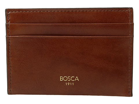 Bosca Old Leather Collection - Weekend Wallet - Amber