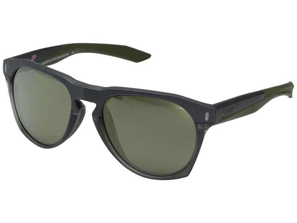 Nike Essential Navigator (Matte Black/Anthracite Grey) Sport Sunglasses