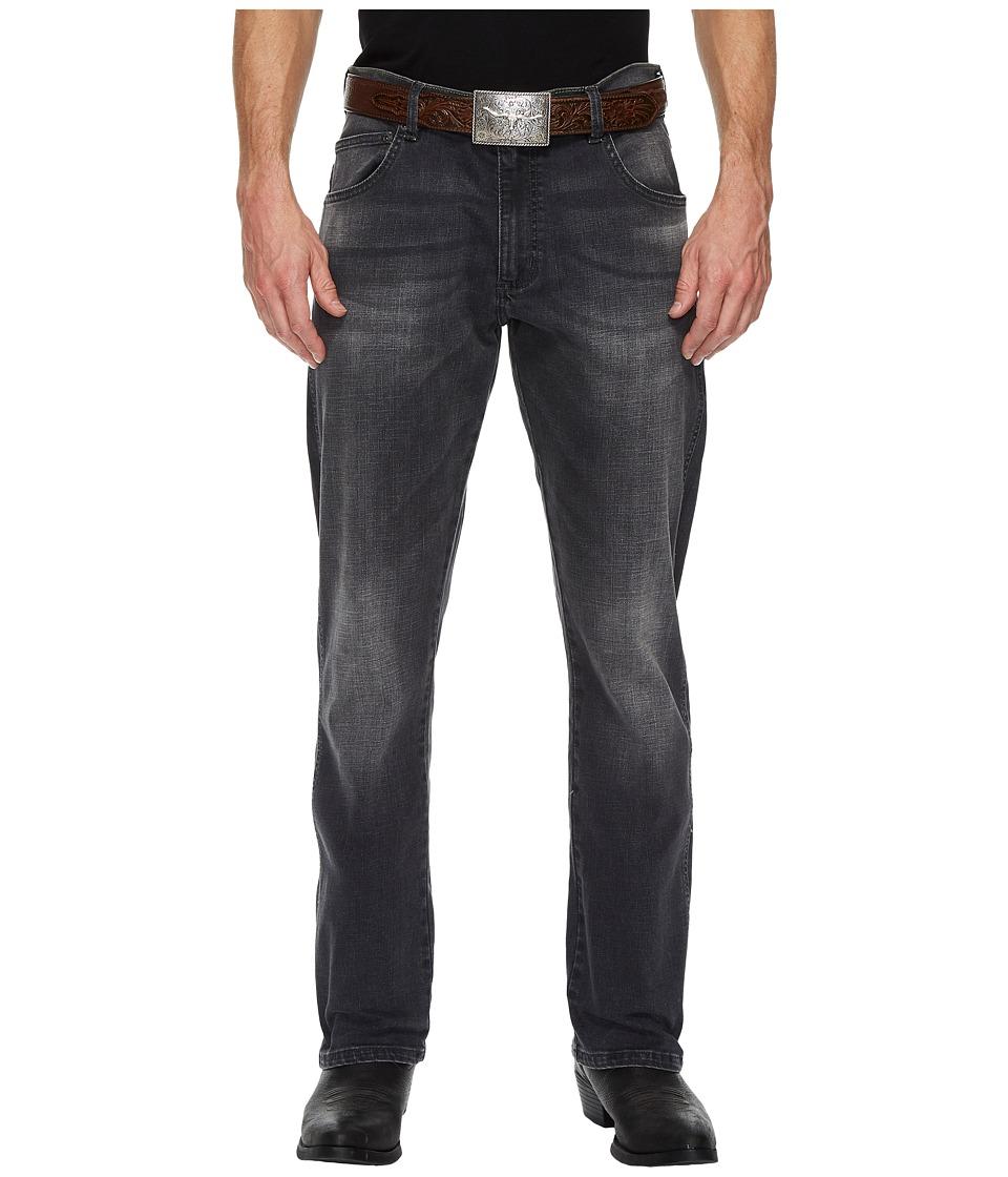 Wrangler Retro Slim Straight (Grey Denim) Men's Jeans