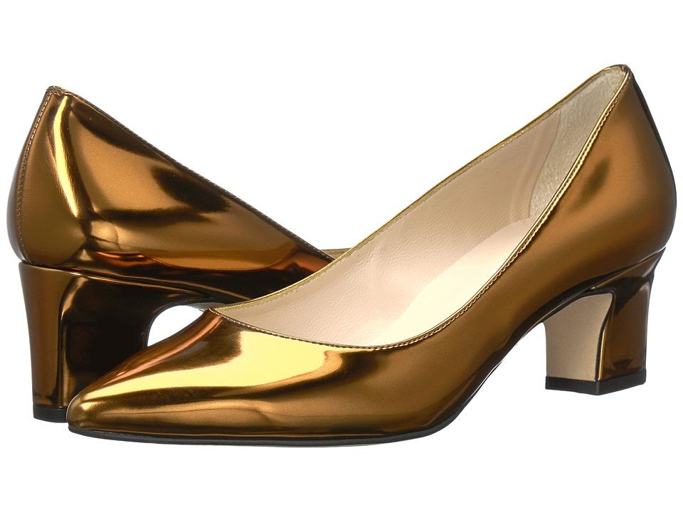 L.K. Bennett Annabelle (Warm Gold Mirror Metallic PU) Women