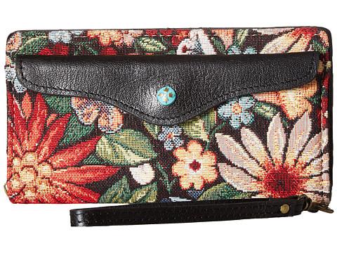 Patricia Nash Valentia Snap Wristlet - Burton Tapestry