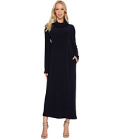 KAMALIKULTURE by Norma Kamali - Oversized Turtleneck Midcalf Dress