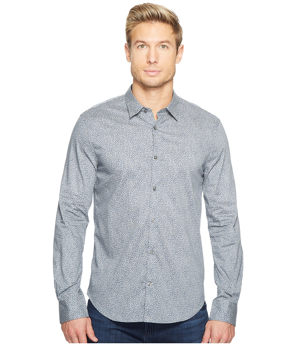 John Varvatos Star U.S.A. John Varvatos Star U.S.A. - Slim Fit Turnback Placket w/ Contrast W434T2L