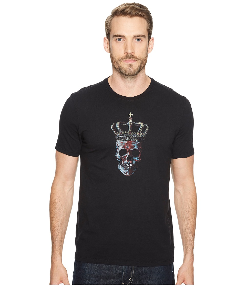 John Varvatos Star U.S.A. John Varvatos Star U.S.A. - Crowned Skull Graphic T-Shirt K3185T2B