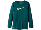 Nike Kids Dry Hoops Basketball Long Sleeve Tee (Little Kids/Big Kids)