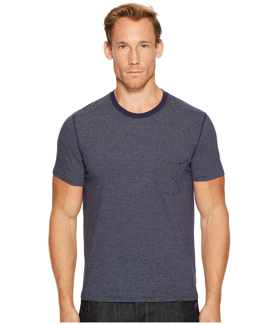 7 For All Mankind 7 For All Mankind - Short Sleeve Stripe Ringer Tee