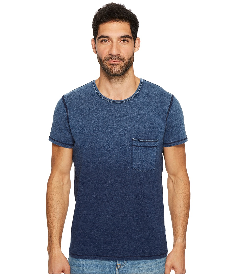 7 For All Mankind 7 For All Mankind - Short Sleeve Indigo Raw Pocket Crew