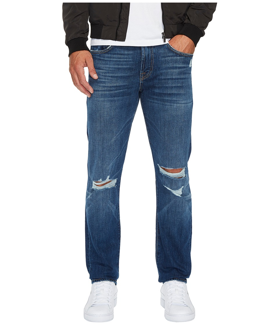 7 For All Mankind Paxtyn w/ Clean Pocket in Indigo Blowout (Indigo Blowout) Men
