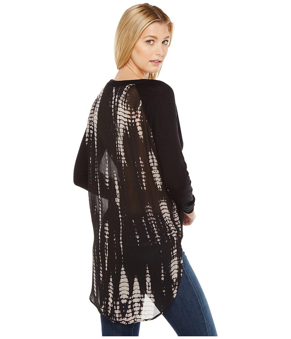 Religion Symbolic Sweater (Jet Black/Winter White) Women'...