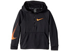 Nike Kids Dry Training 1/4 Zip Pullover Hoodie (Little Kids/Big Kids)