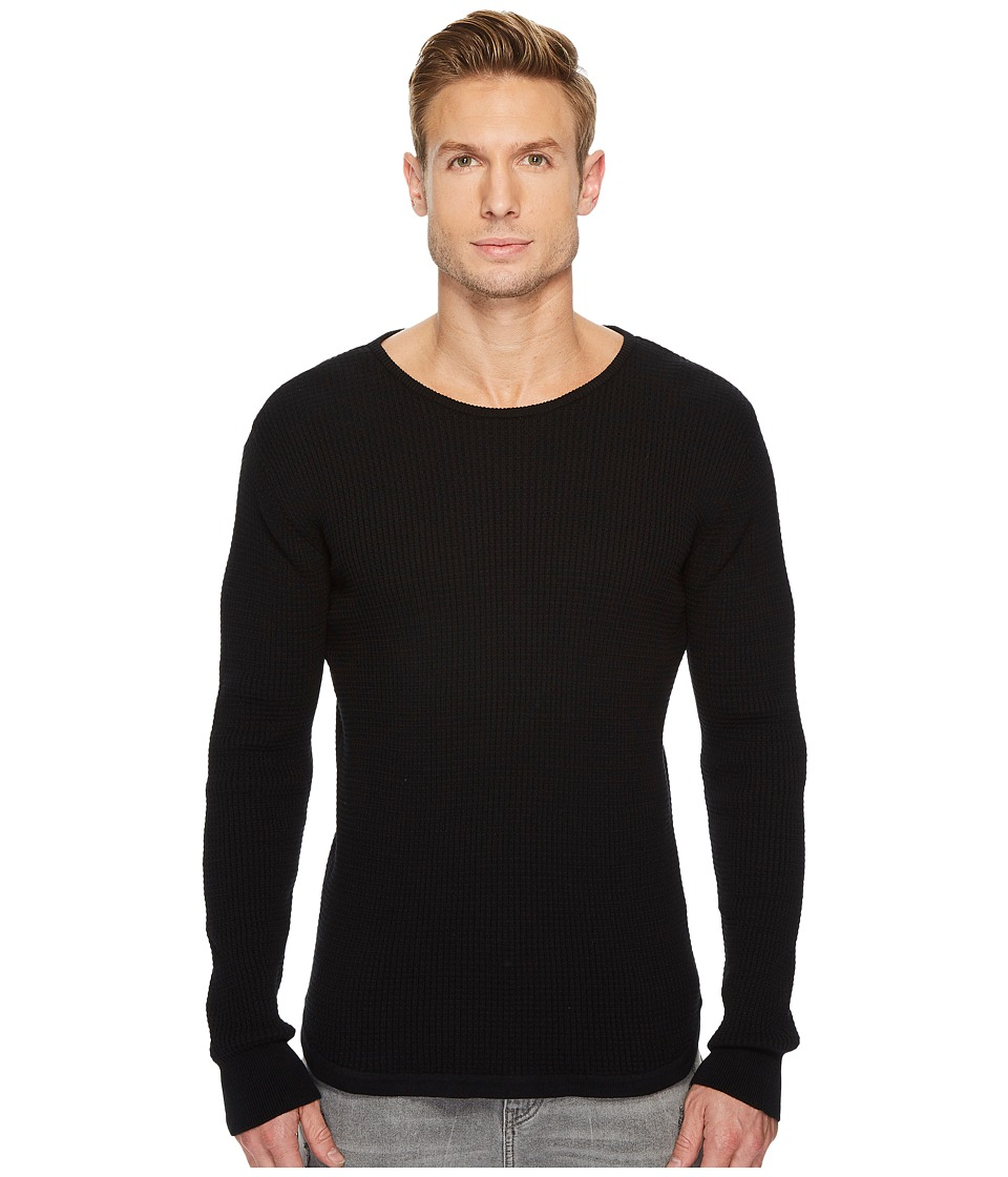 Threads 4 Thought Hayden Long Sleeve Knit Sweater (Black) Men