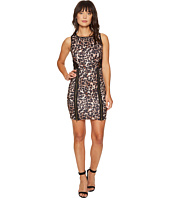 ROMEO & JULIET COUTURE - Animal Print with Lace Back Dress