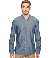 John Varvatos Star U.S.A. - Button Down Long Sleeve Shirt w/ Band Collar W546T2B