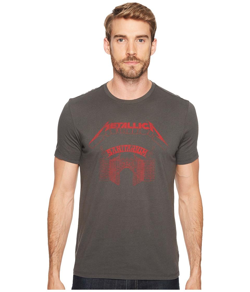 John Varvatos Star U.S.A. Metallica Sanitarium Graphic T-Shirt K3331T2B (Coal) Men