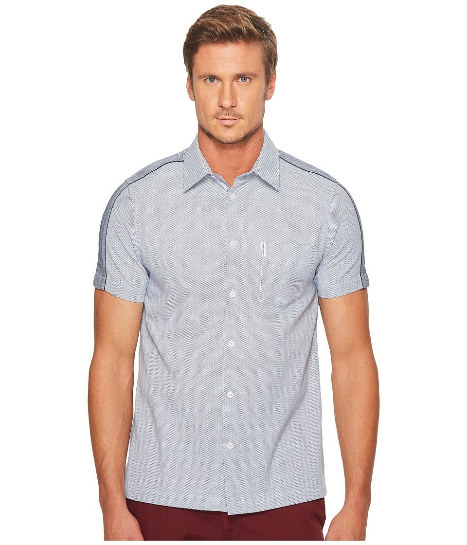 Ben Sherman - Short Sleeve Blocked Dobby Shirt