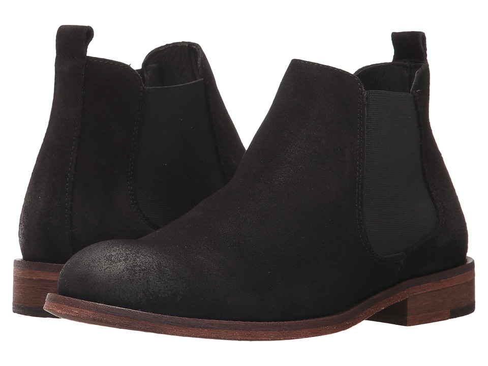 Wolverine Jean (Black Suede) Women's Pull-on Boots