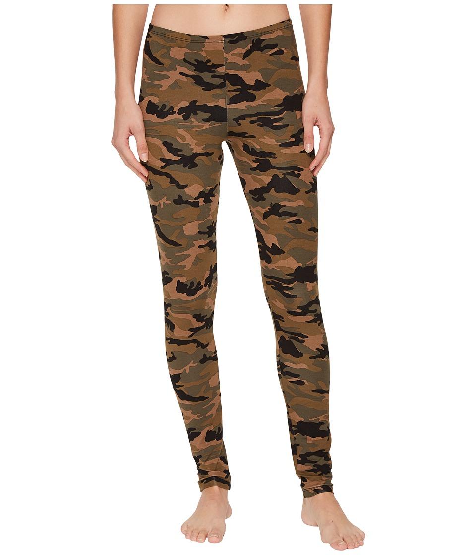 Hanky Panky Camo Rayon Leggings (Multi) Women's Pajama