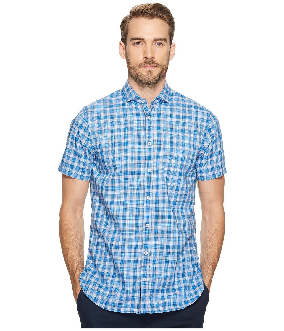 BOSS Orange Cattitude-Short Shirt (Blue) Men