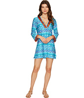 La Blanca - All In the Mix V-Neck Tunic Cover-Up