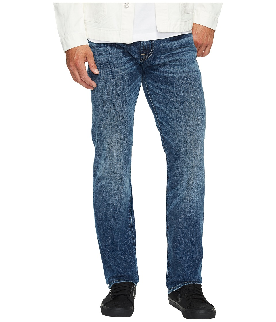 7 For All Mankind Standard w/ Clean Pocket in Pacific Light (Pacific Light) Men