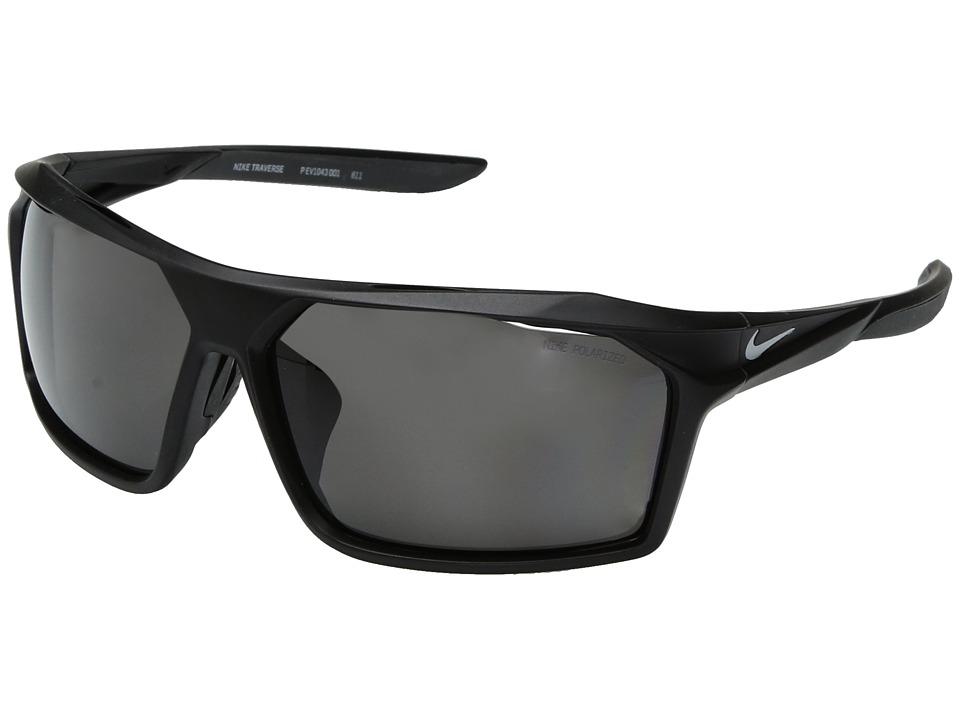 Nike Traverse (Matte Black) Sport Sunglasses