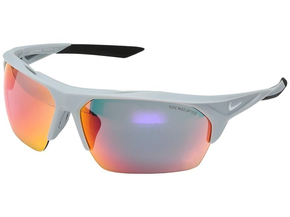 Nike Terminus (Matte Wolf Grey) Sport Sunglasses