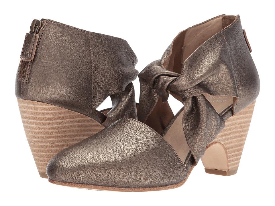 Eileen Fisher Mary (Bronze Metallic Leather) High Heels