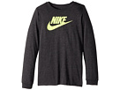 Nike Kids Sportswear Dry Futura Long Sleeve T-Shirt (Little Kids/Big Kids)