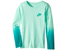 Nike Kids Sportswear Dip-Dye Long Sleeve Shirt (Little Kids/Big Kids)
