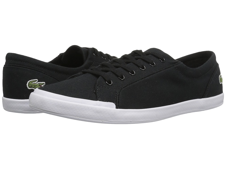 Lacoste Lancelle BL 2 Canvas (Black) Women