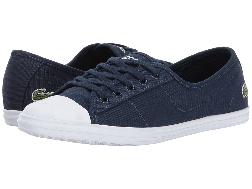 Lacoste - Ziane BL 2 (Navy) Womens Shoes