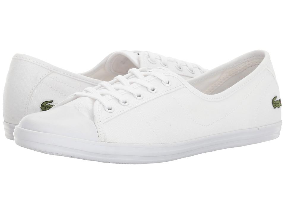 Lacoste Ziane BL 2 (White) Women's Shoes