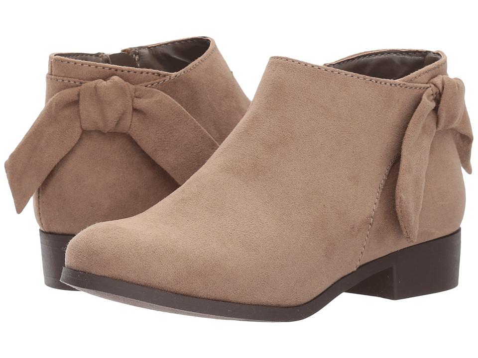Nine West Kids Samarah (Little Kid/Big Kid) (Taupe Microfiber) Girl's Shoes