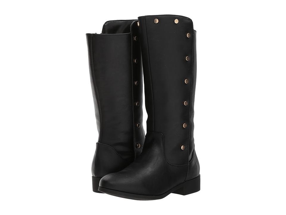 Nine West Kids Stephaniah (Little Kid/Big Kid) (Black Smooth) Girl's Shoes
