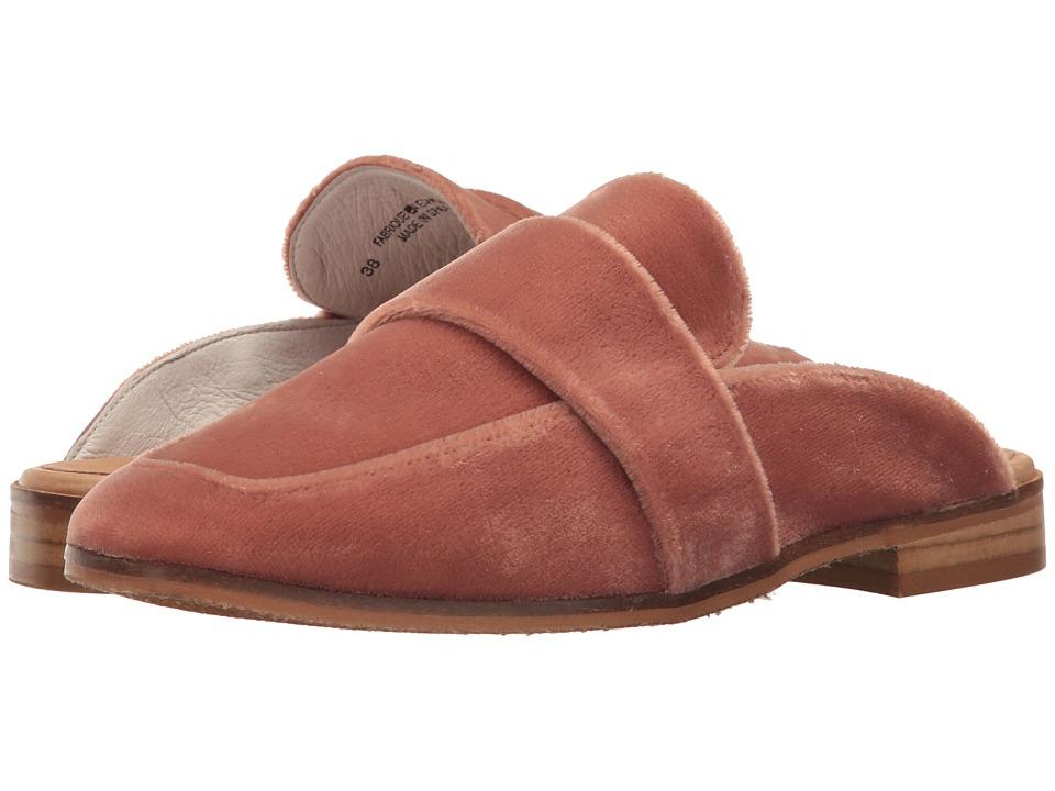 Free People At Ease Velvet Loafer (Rose) Women