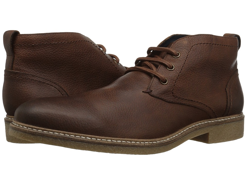 RUSH by Gordon Rush Hayes (Dark Brown Pebbled) Men