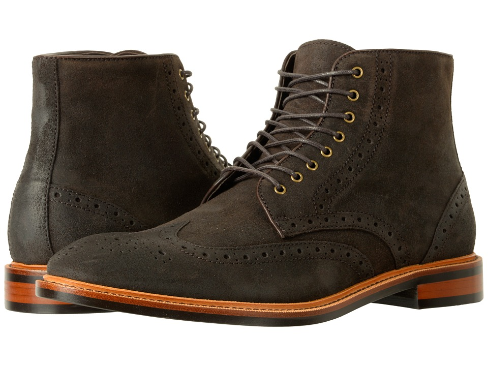 Gordon Rush Stafford (Espresso Waxy Suede) Men