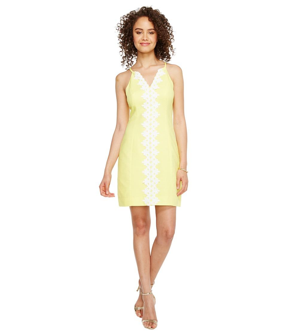 Lilly Pulitzer Pearl Shift (Sweet Tart Yellow) Women's Dress