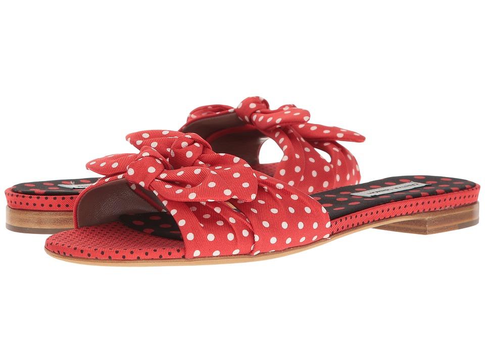 Tabitha Simmons - Cleo Polka (Red/Black/White Polka Dots)...