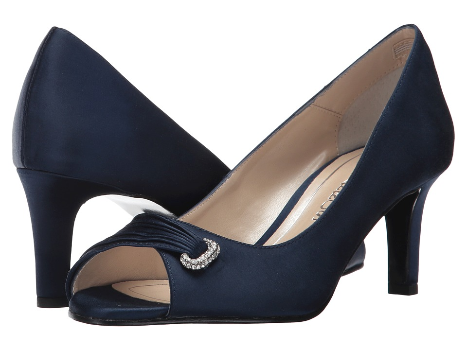 Caparros John (Navy Satin) High Heels