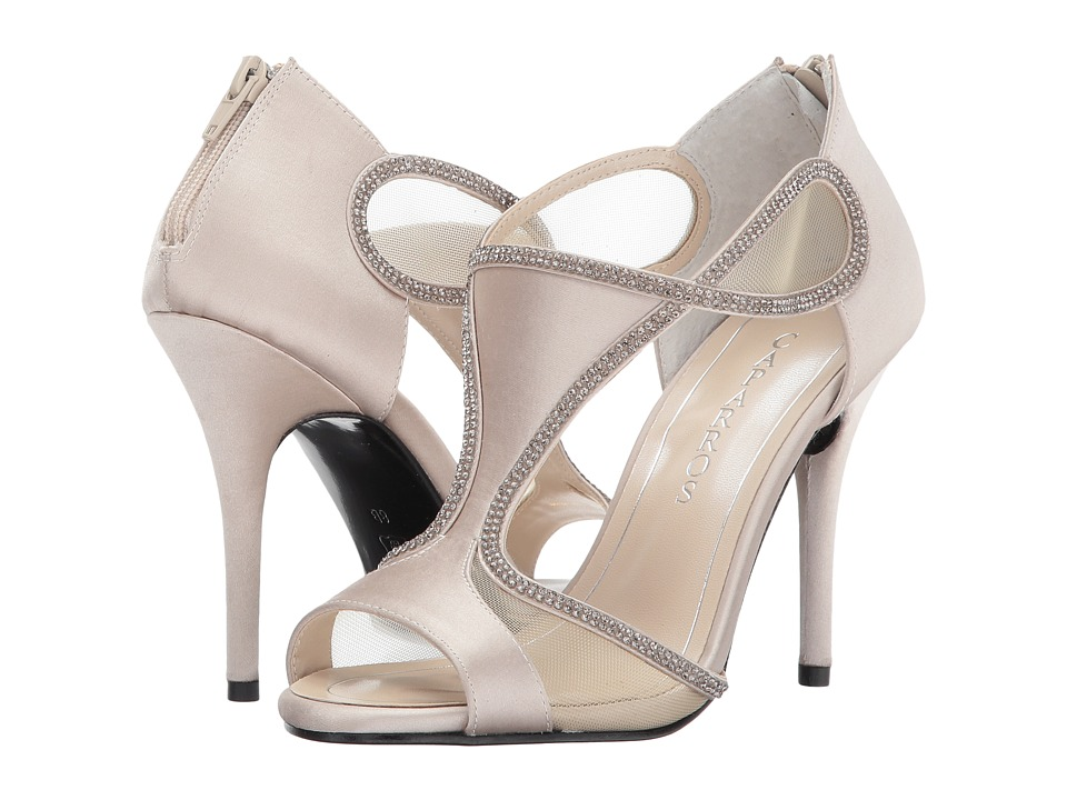 Caparros Jessica (Light Nude Satin) High Heels