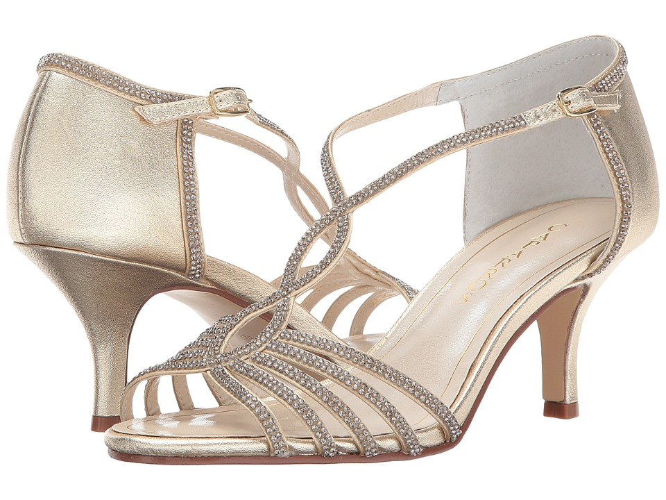 Caparros Jerilyn (Gold Metallic) High Heels