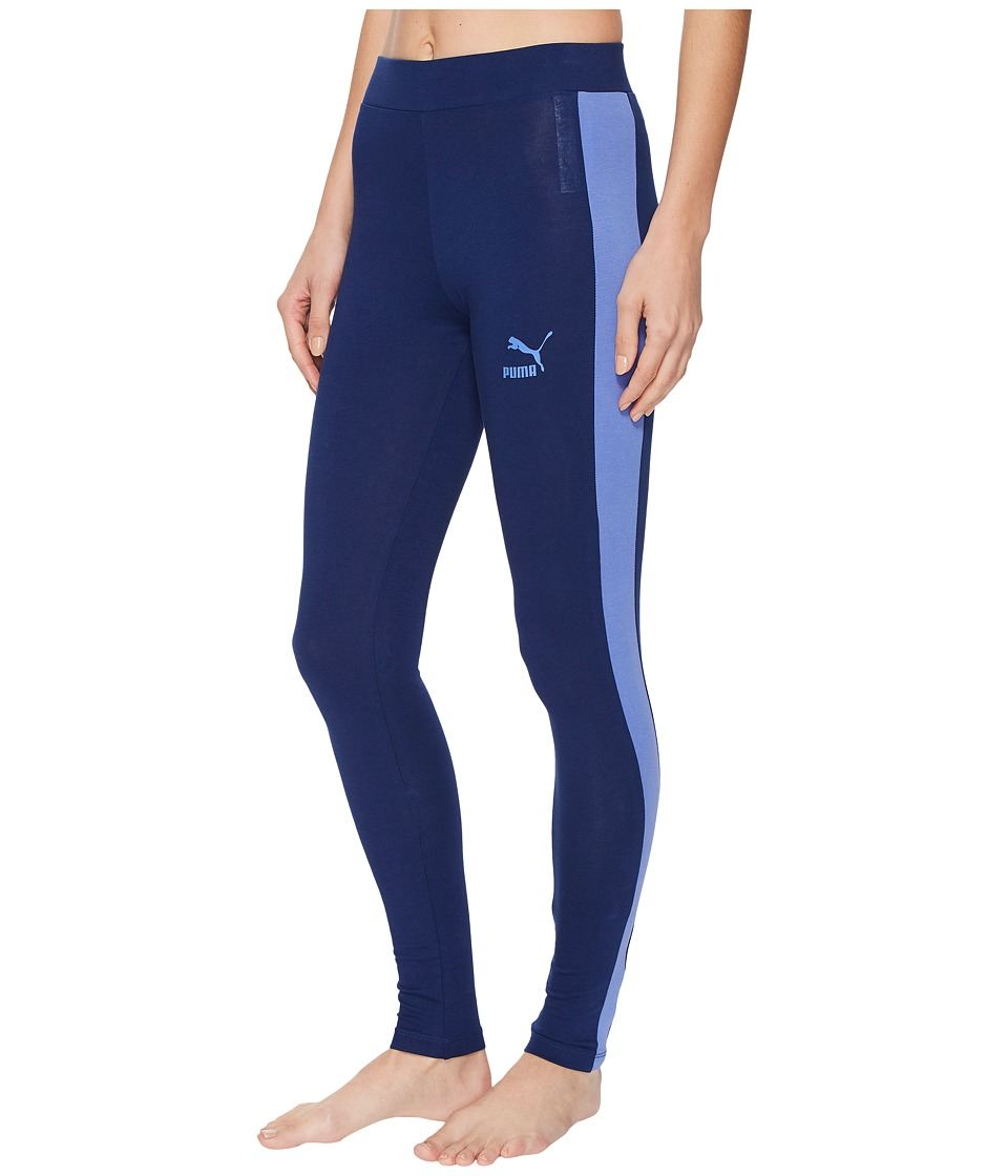 PUMA Archive Logo T7 Leggings (Blue Depths 2) Women