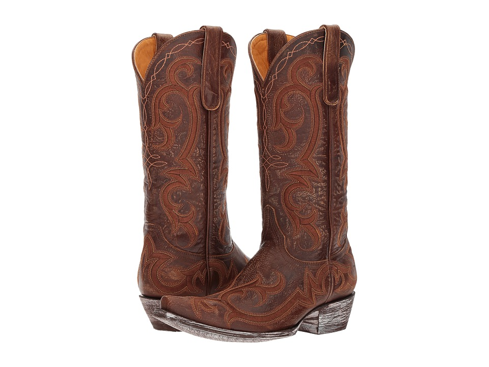 Old Gringo Dolly (Brass) Cowboy Boots