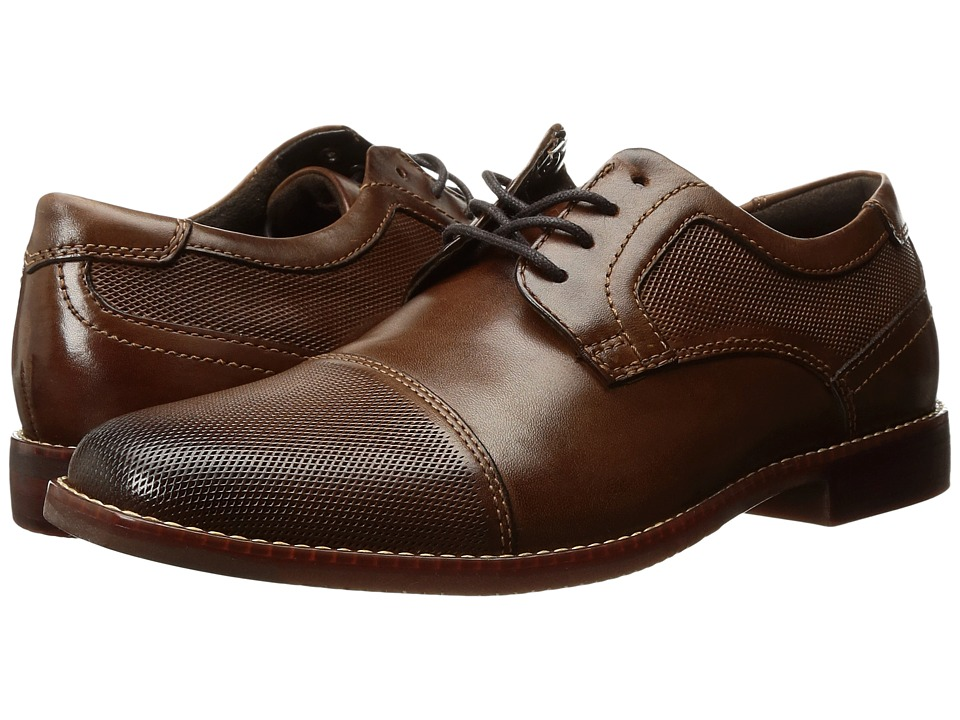 Rockport Style Purpose Perf Cap Toe (Brown Leather) Men's...