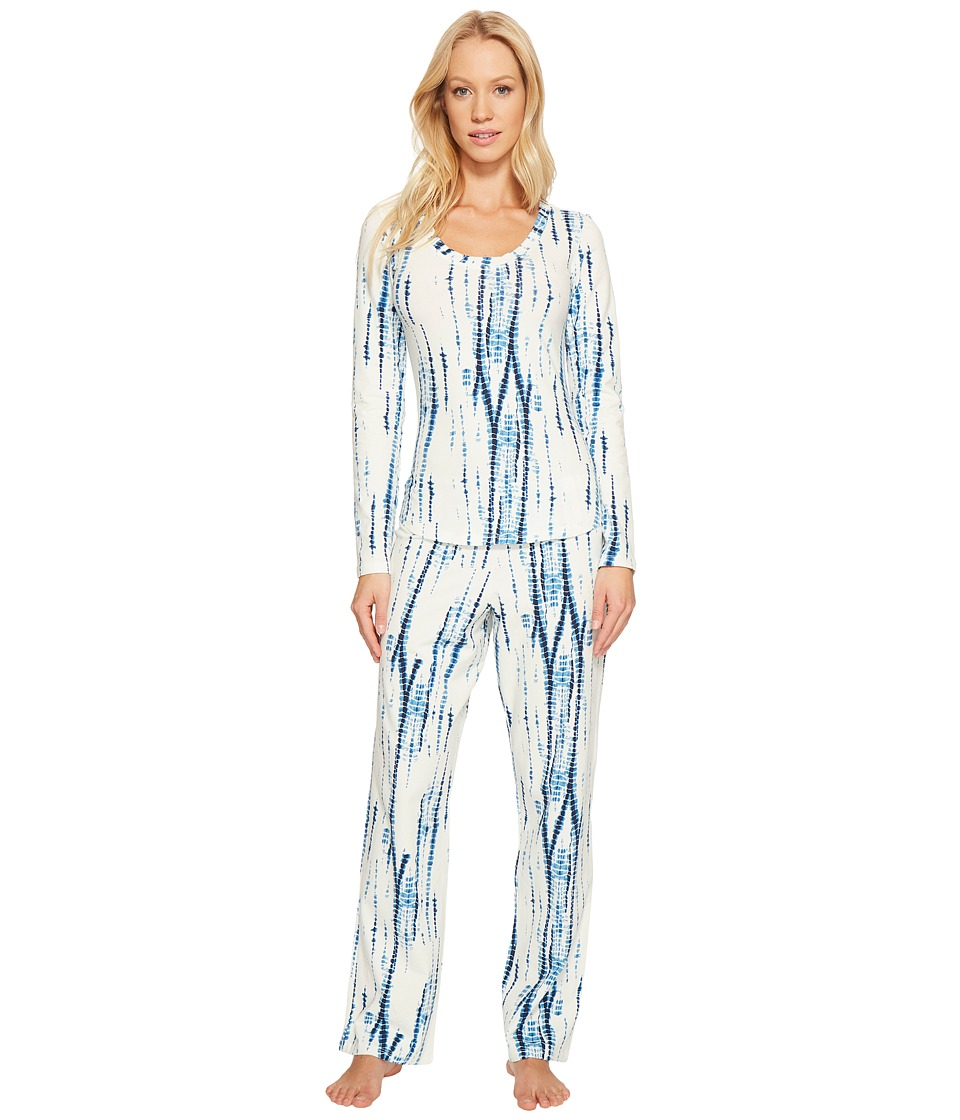 BedHead - Long Sleeve Round-Neck with Classic Pants Pajama Set