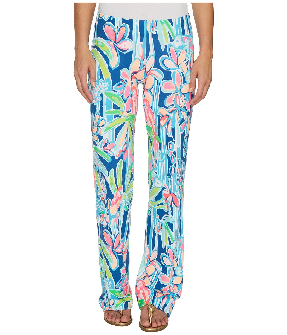 Lilly Pulitzer Georgia May Palazzo (Indigo Pop Up Jungle ...