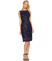 Ellen Tracy - Embroidered Midi with Belt