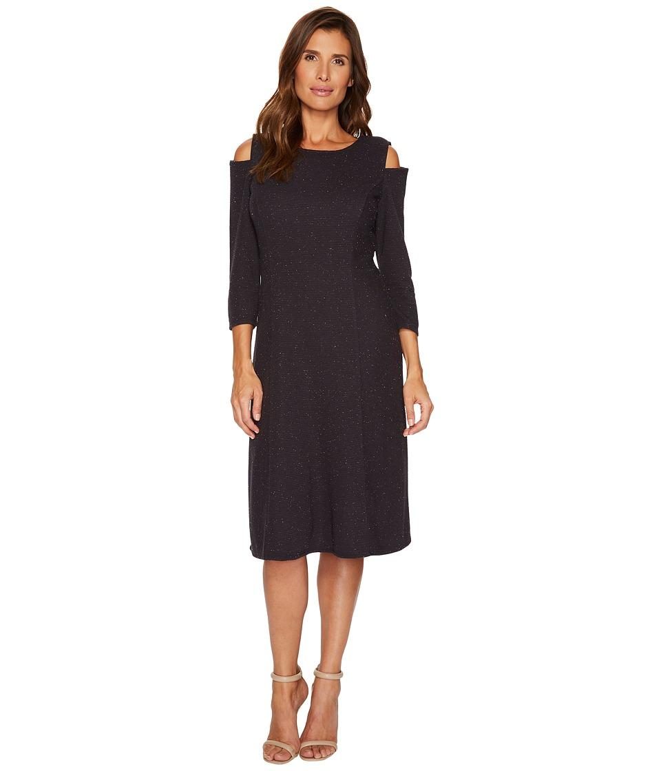 NIC+ZOE Side Street Dress (Phantom) Women
